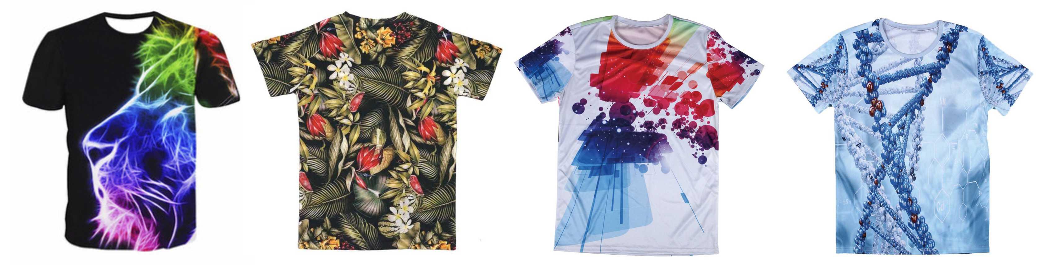 Reactive Printing - T-shirts