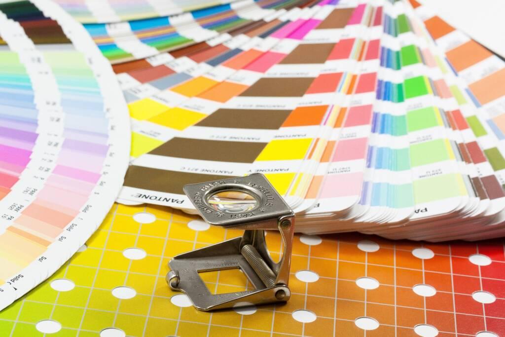 CMYK kleuren transferdruk