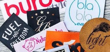 Geweven labels